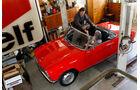 Peugeot 204 Cabriolet, Draufsicht