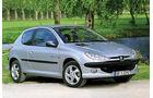 Peugeot 206 1.1, 6 Jahre, 90 000 km, 4600 Euro