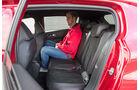 Peugeot 308 GTi THP 270, Fondsitze