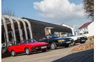 Peugeot 504 TI Cabrio, Saab 900i 16 Cabrio, Triumph TR7 Drophead Coupé