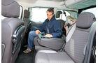 Peugeot Partner Tepee HDi 115, Rücksitz, Rückbank