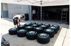 Pirelli-Reifen - Formel 1 - GP Malaysia - Sepang - 27. März 2014