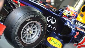 Pirelli Reifen hart GP Malaysia 2012 Webber