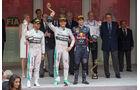 Podium - GP Monaco 2014