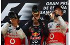 Podium GP Spanien 2011