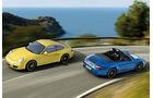 Porsche 911 Carrera 4 GTS Coupe, Cabrio