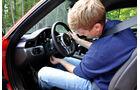 Porsche 911 Carrera, Lenkradeinstellung