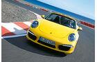 Porsche 911 Carrera S Cabriolet, Front, Kurve