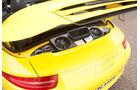 Porsche 911 Carrera S Cabriolet, Heckklappe, Luftzufuhr