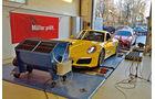 Porsche 911 Carrera S, Mercedes-AMG GT, Leistungsmessung