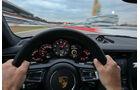 Porsche 911 Carrera S, Rundinstrumente