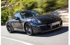 Porsche 911 Facelift, Abstimmungsfahrt