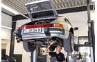 Porsche 911, Hebebühne