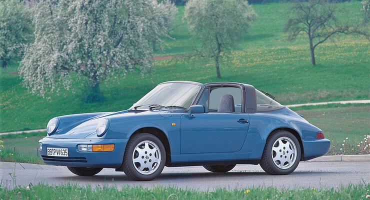 Porsche 911, TYP 964, Seitenansicht