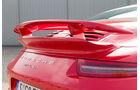 Porsche 911 Turbo Cabriolet, Heckspoiler
