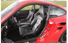 Porsche 911 Turbo, Innenraum, Sitze