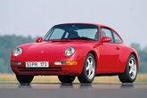 Porsche 911 Typ 993, Frontansicht