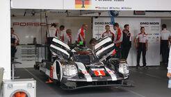 Porsche 919 Hybrid - LMP1 - Startnummer #1 - WEC - Nürburgring - 6-Stunden-Rennen - Sonntag - 24.7.2016