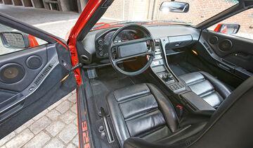 Porsche 928, Cockpit