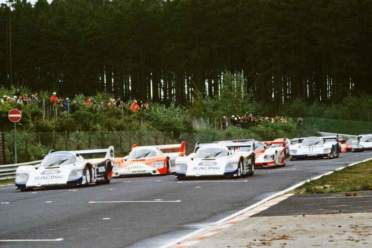 Porsche 956/962, Startaufstellung