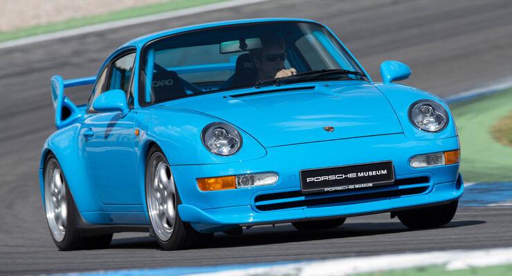Porsche 993, Frontansicht