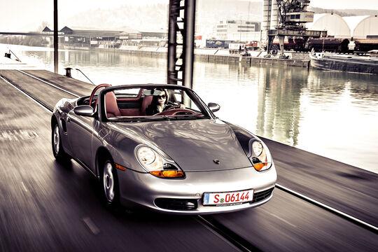 Porsche Boxster 2.7, Frontansicht