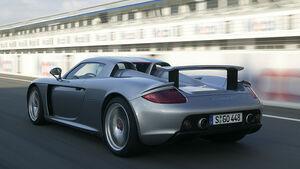 Porsche Carrera GT Rennstrecke