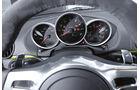 Porsche Cayman R, Anzeigeinstrumente