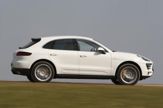 Porsche Macan S Diesel, Seitenansicht