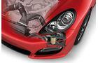 Porsche Panamera GTS, Grafik, Luftzufuhr