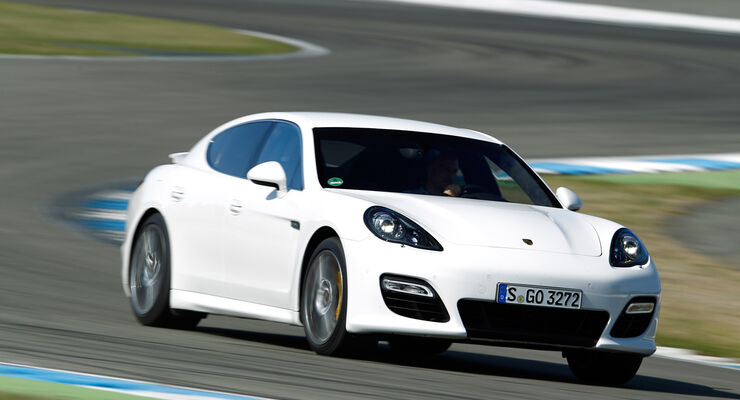 Porsche Panamera Turbo S, Frontansicht