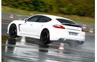Porsche Panamera Turbo S, Nasshandling