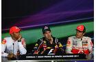 Pressekonferenz GP Spanien 2011