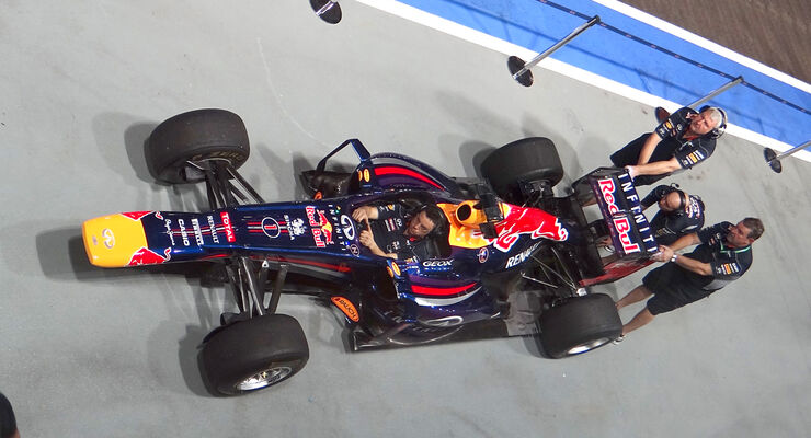 Red Bull Boxenstopp-Training - GP Singapur