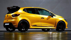 Renault Clio RS leaked