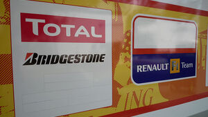 Renault F1 ohne Sponsoren