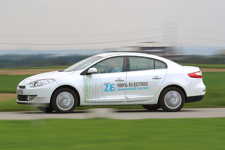 Renault Fluence Z.E. Seite