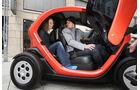 Renault Twizy, Seitentür, Zwei Personen