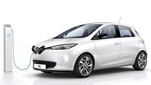 Renault Zoe, Seitenansicht