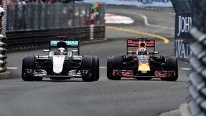 Ricciardo & Hamilton - GP Monaco 2016
