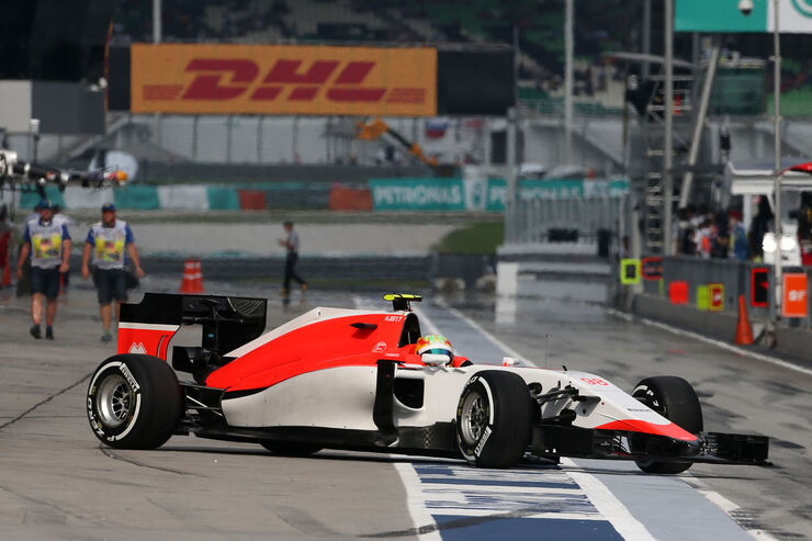 Roberto Merhi - Manor Marussia - GP Malaysia 2015