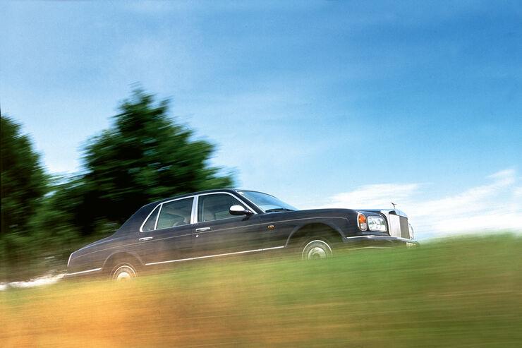 Rolls-Royce Silver Seraph, Seitenansicht