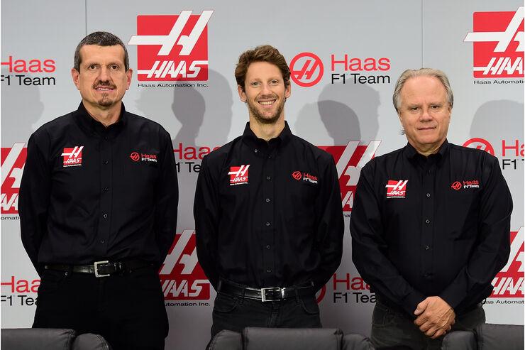 Romain Grosjean - Haas F1 - Präsentation - 2015