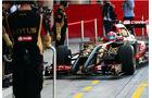 Romain Grosjean - Lotus - Formel 1 - Bahrain - Test - 19. Februar 2014