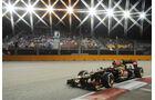 Romain Grosjean - Lotus - Formel 1 - GP Singapur - 21. September 2013