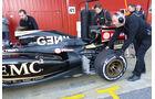 Romain Grosjean - Lotus - Formel 1-Test - Barcelona - 22. Februar 2015