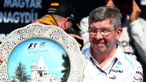Ross Brawn Mercedes - GP Ungarn 2013