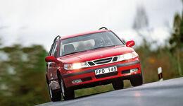 Saab 9-5 2.3t Kombi, Frontansicht