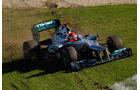 Schumacher GP Australien F1 Crashs 2012