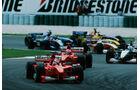 Schumacher Irvine GP Malaysia 1999
